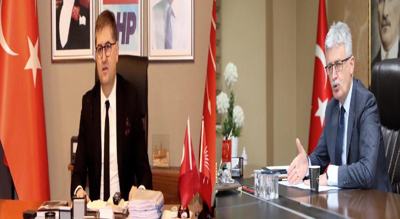 """Başkan Yıldızlı'dan Ellibeş'e; """"Önce kendi belediye başkanlarınıza çeki düzen verin"""""""