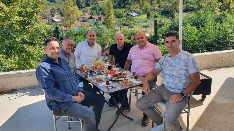 Başkan Gürel ve yönetimi Büyükoğlunu ziyaret etti