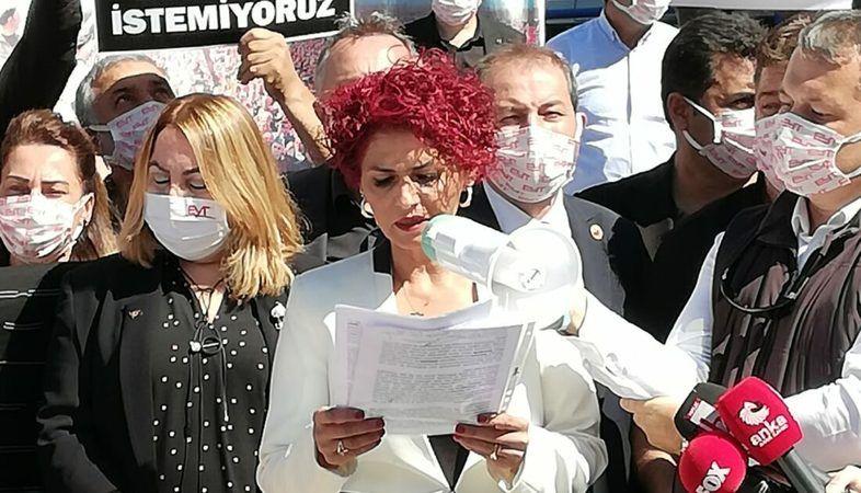 """EYT'liler Ankara'da """"Lütuf istemiyoruz"""""""