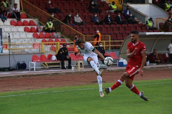 Kocaelispor deplasmanda kaybetti! 2-0