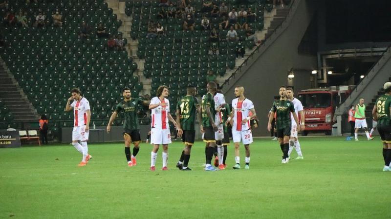 Kocaelispor 4 maçta 1 gol attı