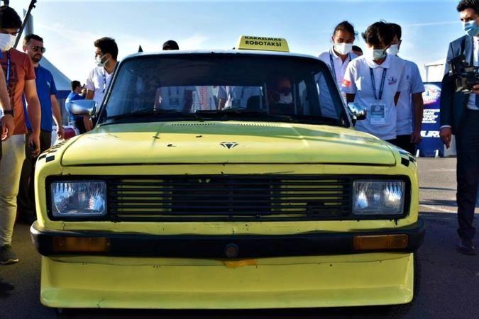 1989 model Serçe sürücüsüz bir şekilde gidebiliyor