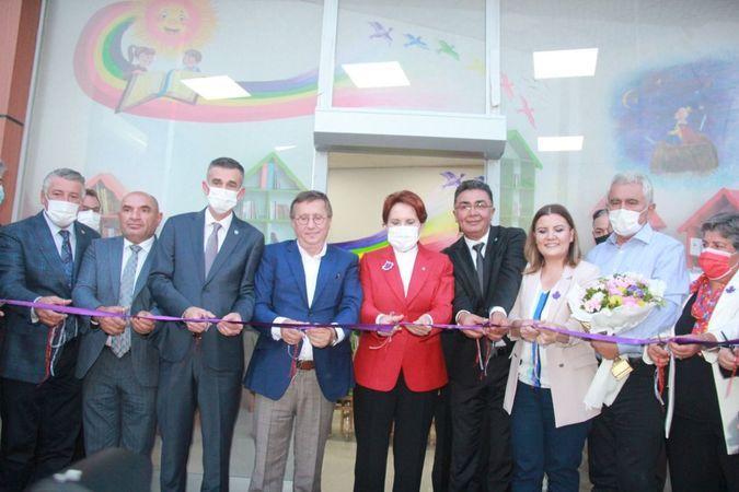 İYİ Parti Genel Başkanı Akşener, İZGİM'i açtı