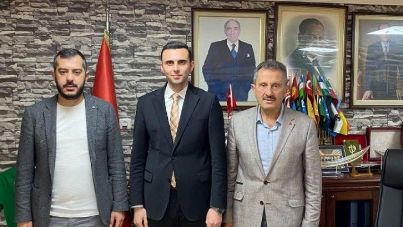 Profesör Çakır'dan Başkan Kurt'a hayırlı olsun ziyareti