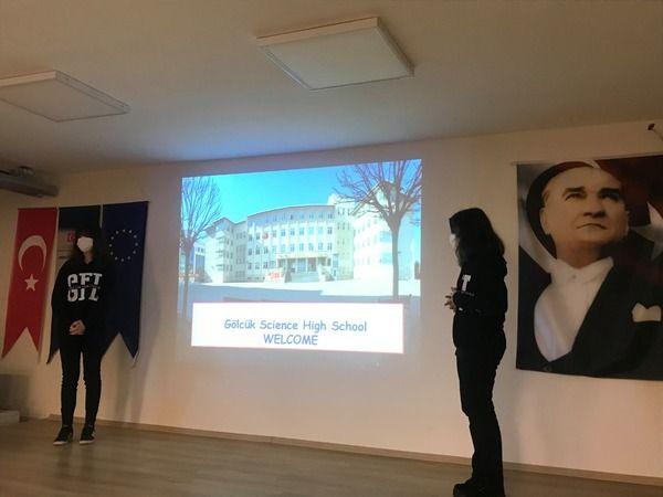 """Erasmus+ """"Promoting Steam Career"""" toplantısı Gölcük'te yapıldı"""