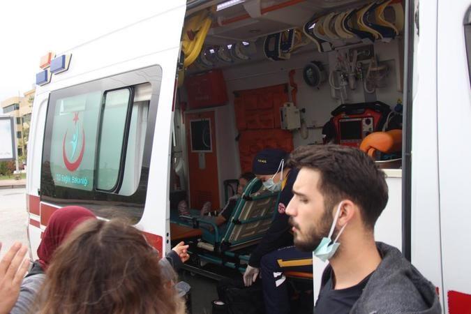 İki otomobilin çarpışması neticesinde bir çocuk yaralandı
