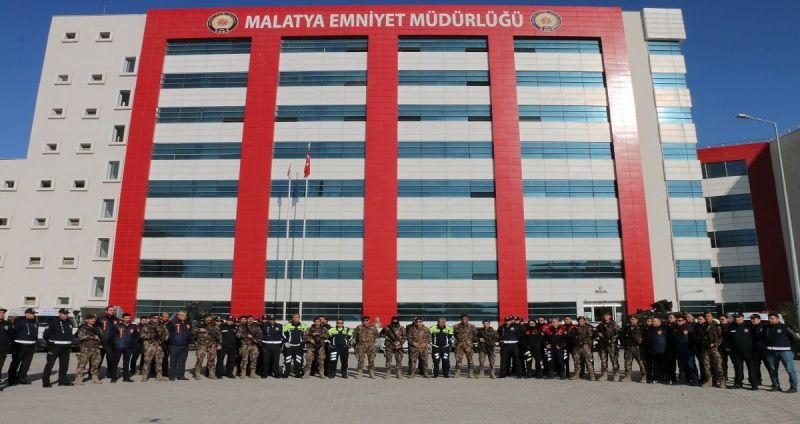 """Malatya'daki """"Gece Kartalları"""" ekibi ile güvenlik emin ellerde"""