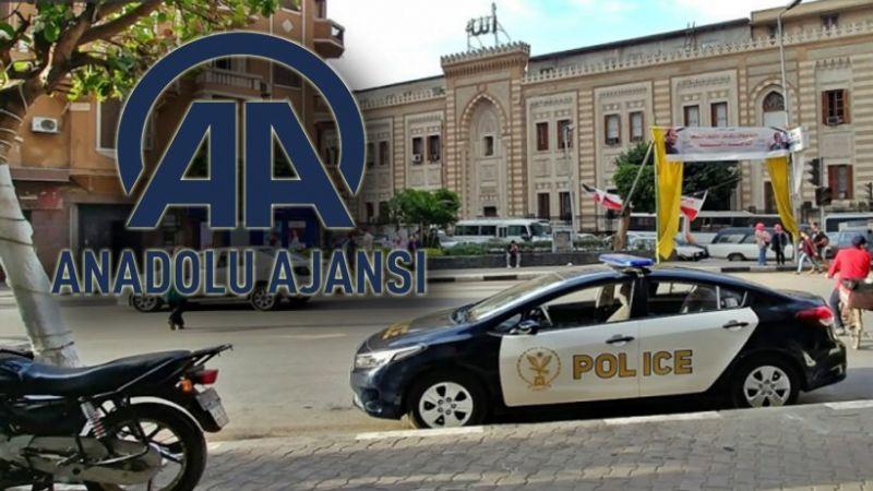 Mısır polisinden AA'nın Kahire ofisine baskın! Dışişleri'nden sert kınama!