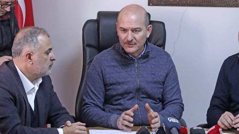 Süleyman Soylu: Afet bölgesi ilan edilsin demek siyasi bir yaklaşım olur