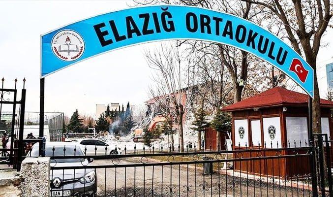 Elazığ'da okulların açılma tarihi 17 Şubat'a ertelendi