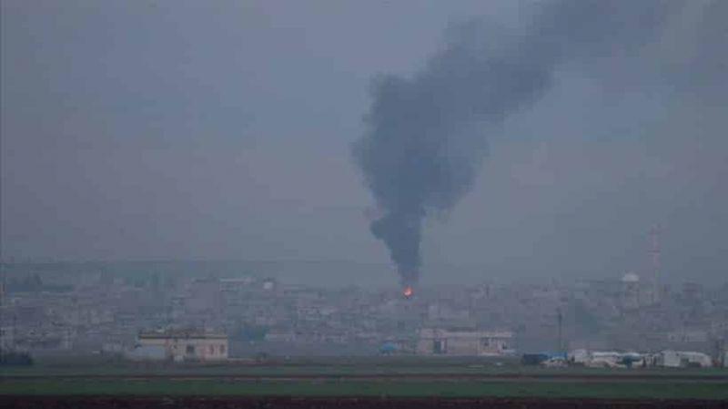 Rus savaş uçakları İdlib'i vurdu: 3 ölü, 9 yaralı