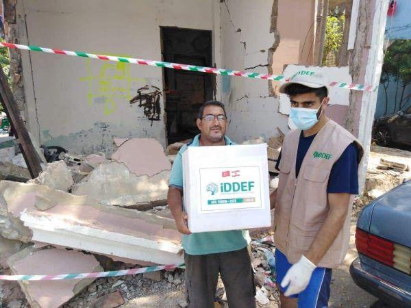 İDDEF, Lübnan'da yaraları sarıyor