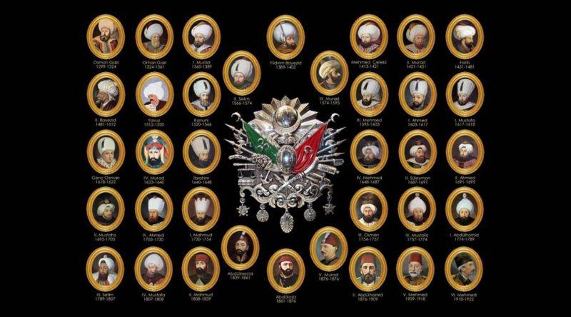 Osmanlı padişahları kimlerdir? Sırasıyla Osmanlı Padişahları listesi