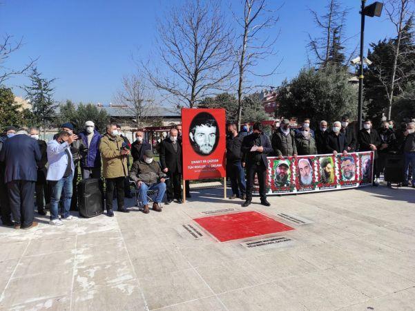 Metin Yüksel, ölümünün 42. yılında Fatih Camisi avlusunda anıldı