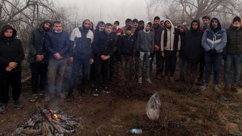 Yunanistan'ın ölüme terk ettiği göçmenlere Mehmetçik yardım elini uzattı