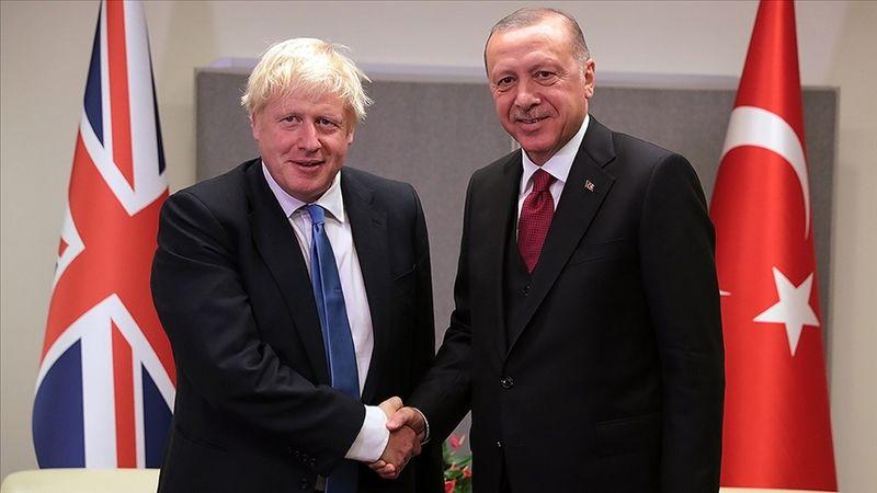 Erdoğan ve Johnson görüşmesinde, Türkiye-İngiltere ilişkilerini geliştirecek adımlar ele alındı