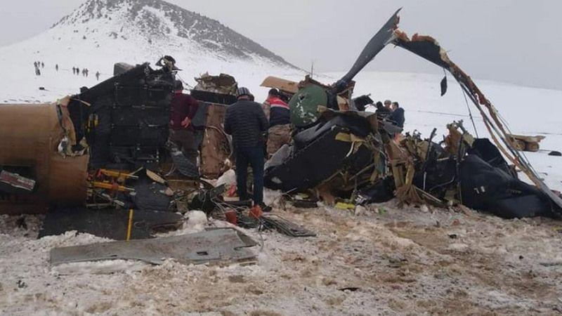 Bitlis'te 11 askerimizin şehit olduğu helikopter kazasının sebebi belli oldu