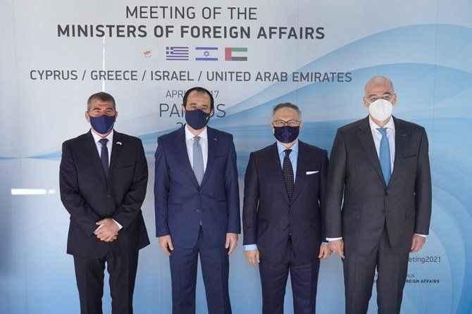 Yunanistan'ın dost arayışı bitmiyor: Dendias GKRY, İsrail ve BAE dışişleri ile buluştu