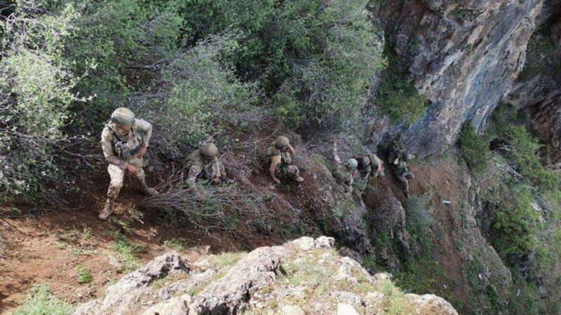 Pençe-Yıldırım'da öldürülen terörist sayısı 70 oldu