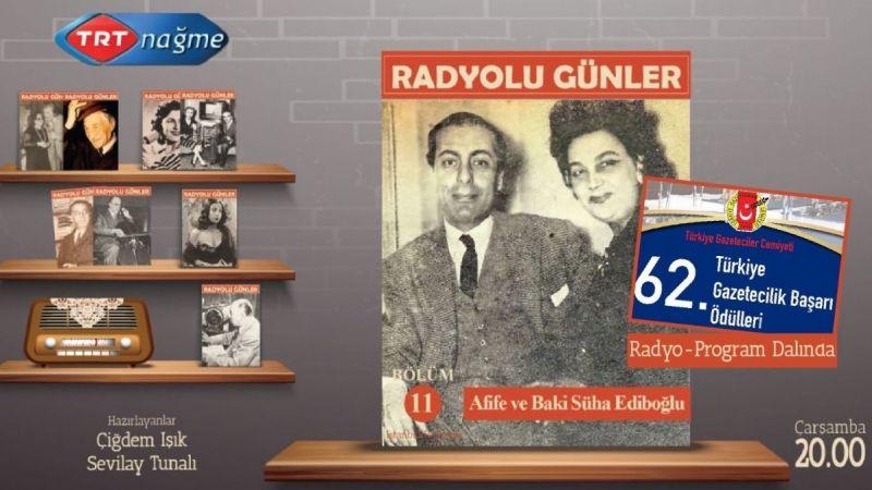 Türkiye Gazeteciler Cemiyeti'nden TRT Nağme'ye ödül