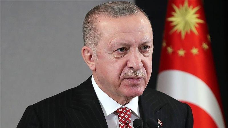 Cumhurbaşkanı Erdoğan'dan şehit Osman Alp'in ailesine taziye mesajı