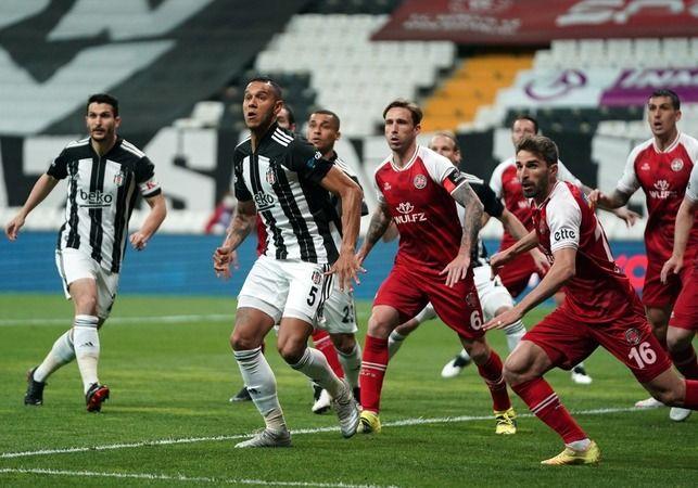 Beşiktaş kendi evinde kaybetti! Zirve yarışı karıştı