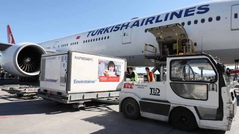 CoronaVac'ın yeni partisi Türkiye'de