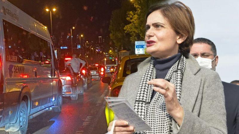 İsrail'e tepki konvoyu Canan Kaftancıoğlu'nu rahatsız etti
