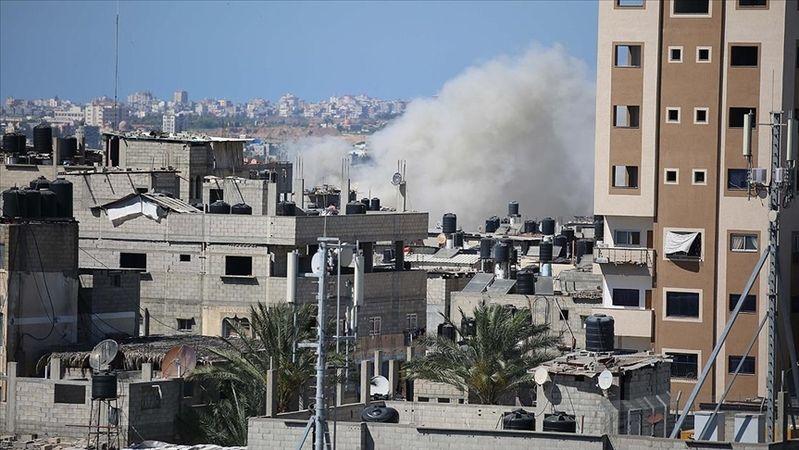 Terör devleti İsrail'in saldırısında AA kameramanı ve foto muhabiri yaralandı