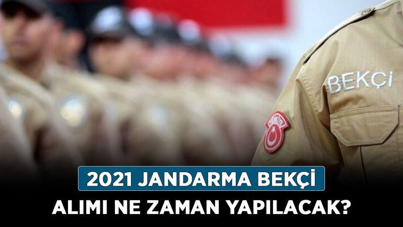 Jandarma bekçi alımı ne zaman yapılacak? Jandarma 2021 bekçi alımı şartları nelerdir?