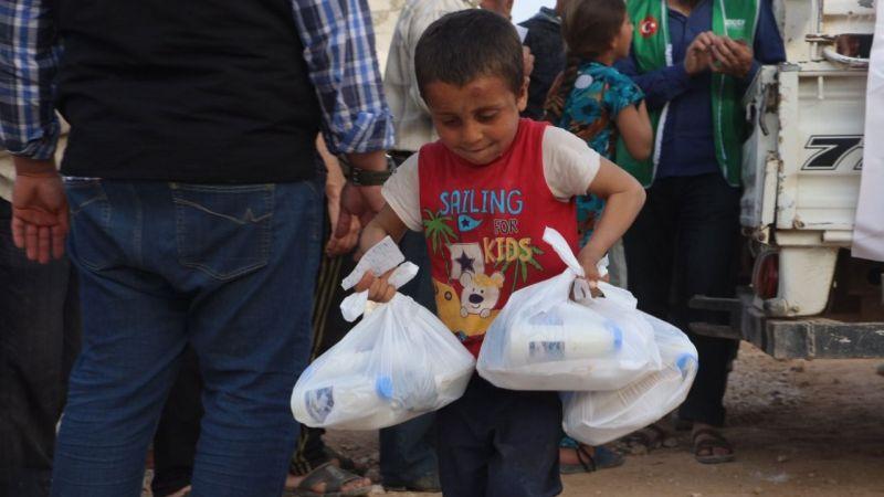 """İDDEF, Ramazan'da """"iyilik seninle"""" dedi"""