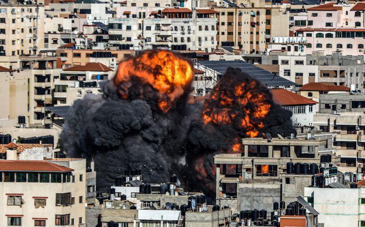 İşgalci İsrail'in Gazze'ye saldırıları devam ediyor