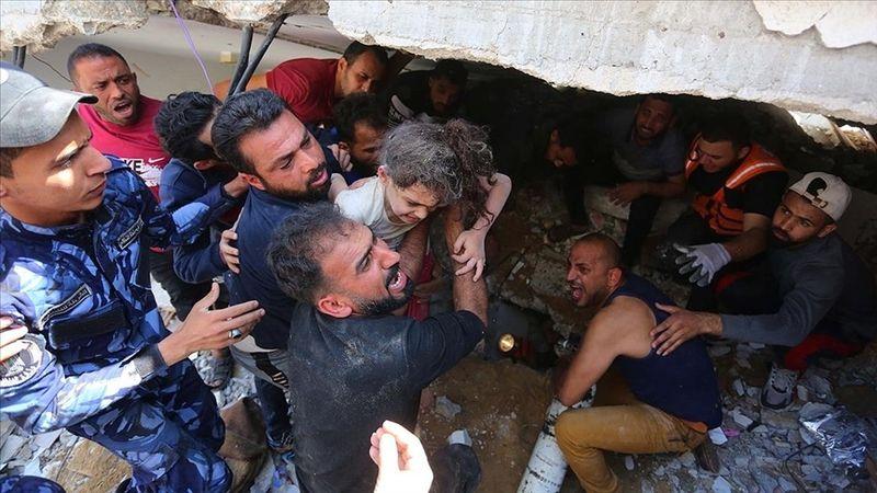 Filistin'de şehit sayısı 192'ye yükseldi!