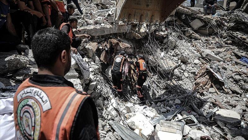 Gazze'deki sivil savunma teşkilatından 'acil yardım' çağrısı!