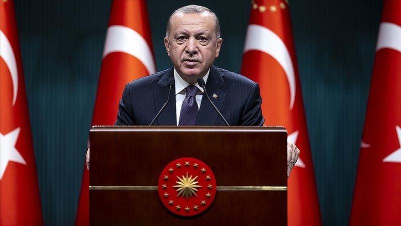 Cumhurbaşkanı Erdoğan'dan, 59. Ziraat Türkiye Kupasını kazanan Beşiktaş'a tebrik!