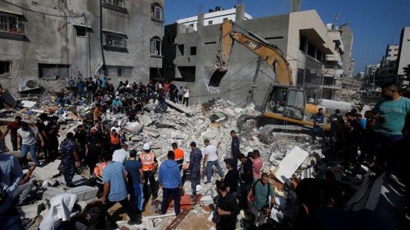 Gazze'de can kaybı 213 oldu