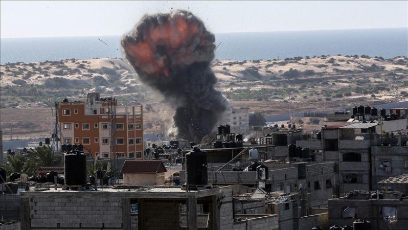 İşgalci İsrail, sivil bölgelerini hedef aldı