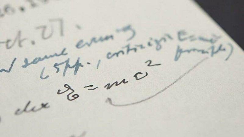 Albert Einstein'ın ünlü mektubu uçuk fiyata satıldı!
