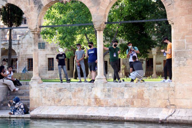 İçişleri Bakanlığı projesi kapsamında 100 öğrenci Şanlıurfa'yı gezdi