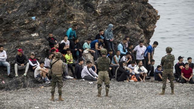 İspanya, Fas'tan gelen 7 bin 800 göçmeni geri gönderdi