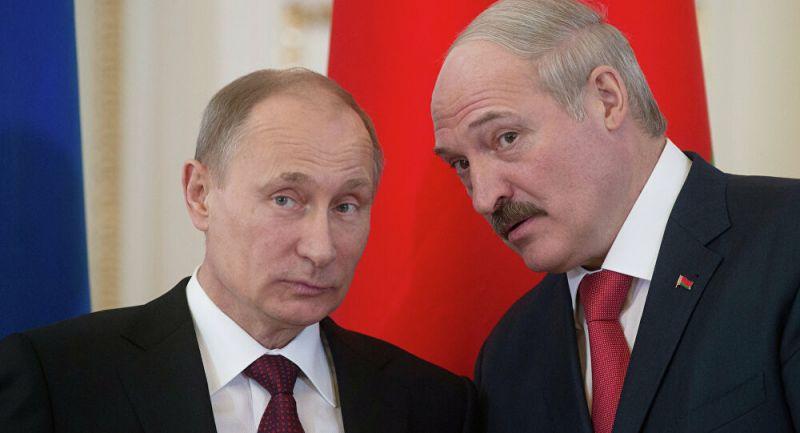 Rusya Devlet Başkanı Putin, Belarus Cumhurbaşkanı Lukaşenko ile bir araya geldi