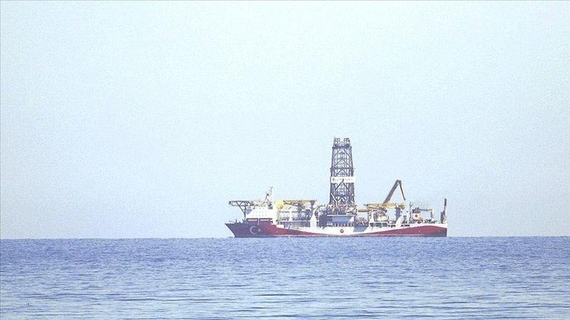 Fatih gemisi tespit edilen kuyuda sondaja başladı
