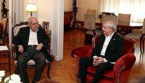 Kılıçdaroğlu akıl hocası Cindoruk ile buluştu! Ziyaretin zamanlaması dikkati çekiyor...