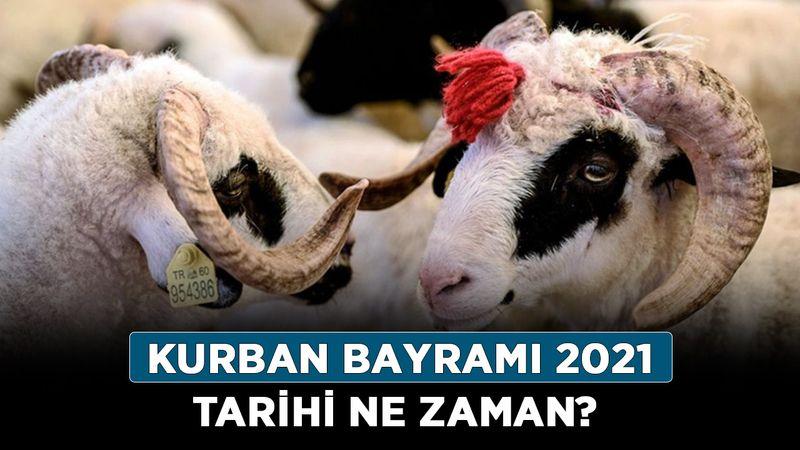 Kurban Bayramı 2021 tarihi ne zaman? Diyanette Kurban Bayramı ne zaman başlıyor?