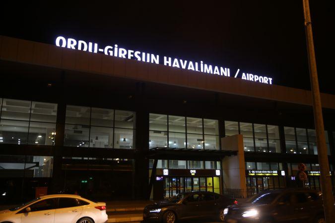Ordu-Giresun Havalimanı'nda asılsız bomba ihbarı