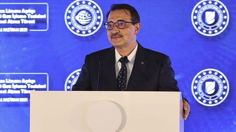 Enerji ve Tabii Kaynaklar Bakanı Dönmez: Filyos'taki doğal gaz 2023'te hizmete sunulacak