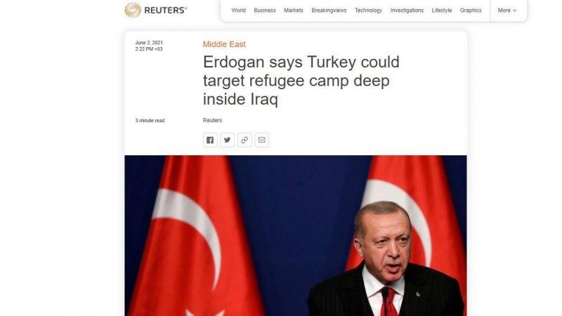 """Reuters'tan PKK propagandası: Teröre """"göçmen"""" kisvesi!"""
