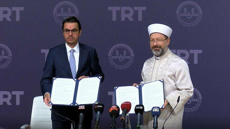 TRT Diyanet Çocuk Kanalı için protokol imzalandı