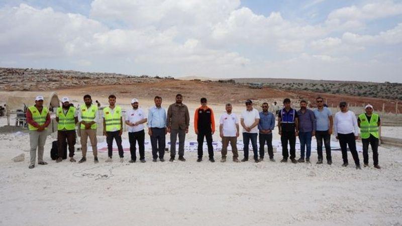 Yedi Başak'tan İdlib'e 500 briket ev