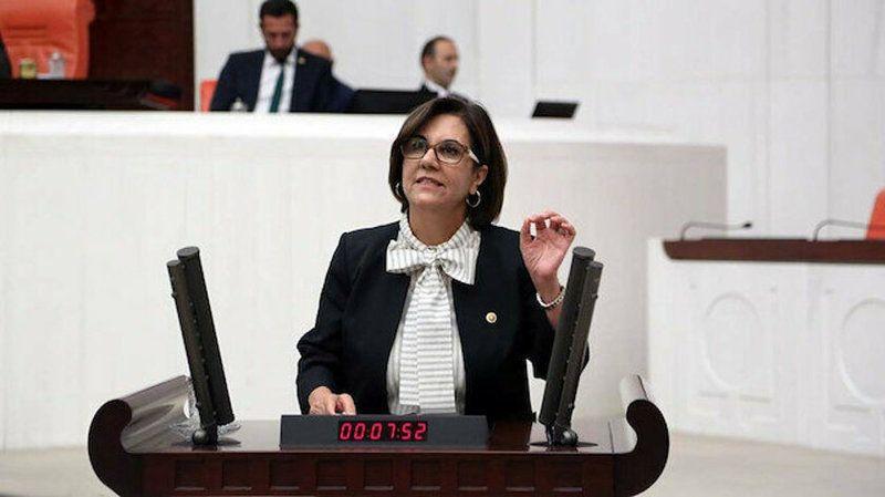Eski CHP'li Gaye Usluer HALK TV ve muhalif medyayı topa tuttu!